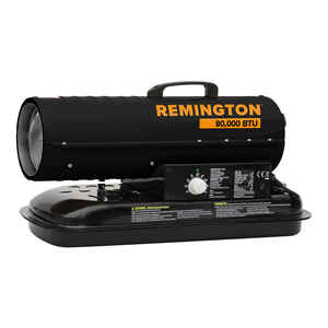 Remington  80000 BTU/hr. 2000 sq. ft. Forced Air  Kerosene  Kerosene Heater
