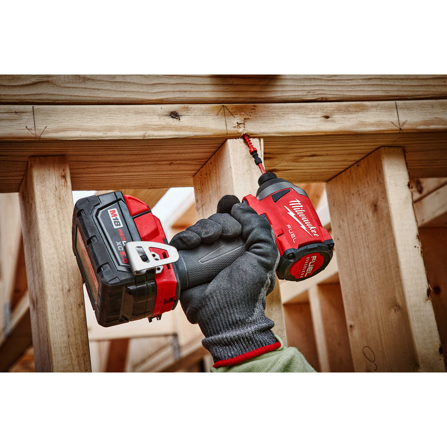 Milwaukee  M18 FUEL  18 volt Cordless  Brushless  Impact Driver  Bare Tool  2000 in-lb