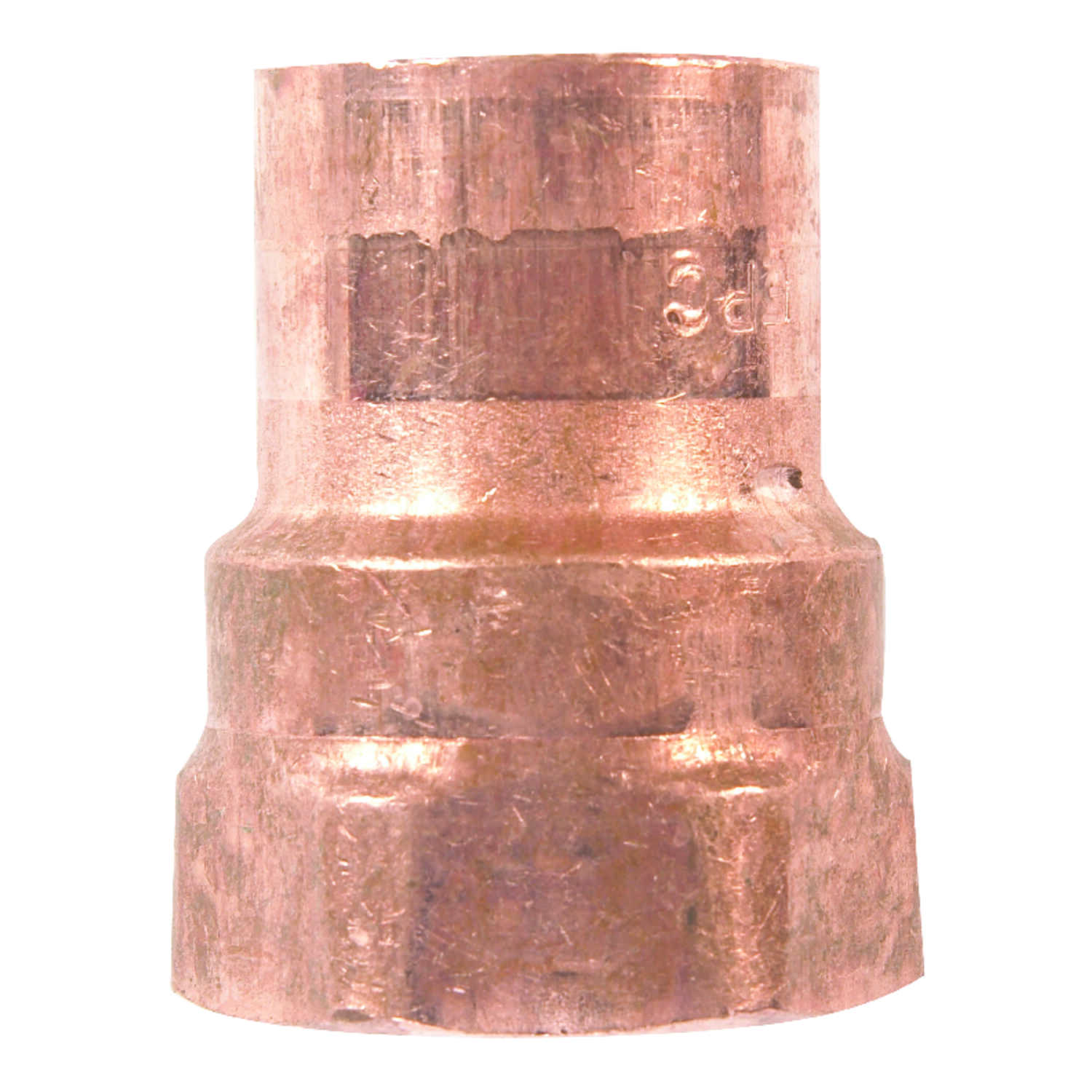 Elkhart  3/8 in. Dia. x 3/8 in. Dia. Copper To FIP  Copper  Pipe Adapter