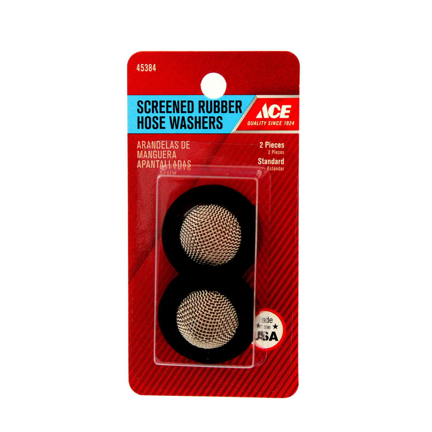 Ace .5 in. Dia. Rubber Screened Washer 2
