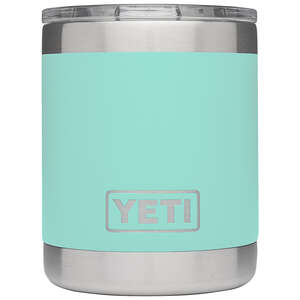 YETI  Rambler  Stainless Steel  BPA Free Lowball  10 oz. Insulated Tumbler  Seafoam Green