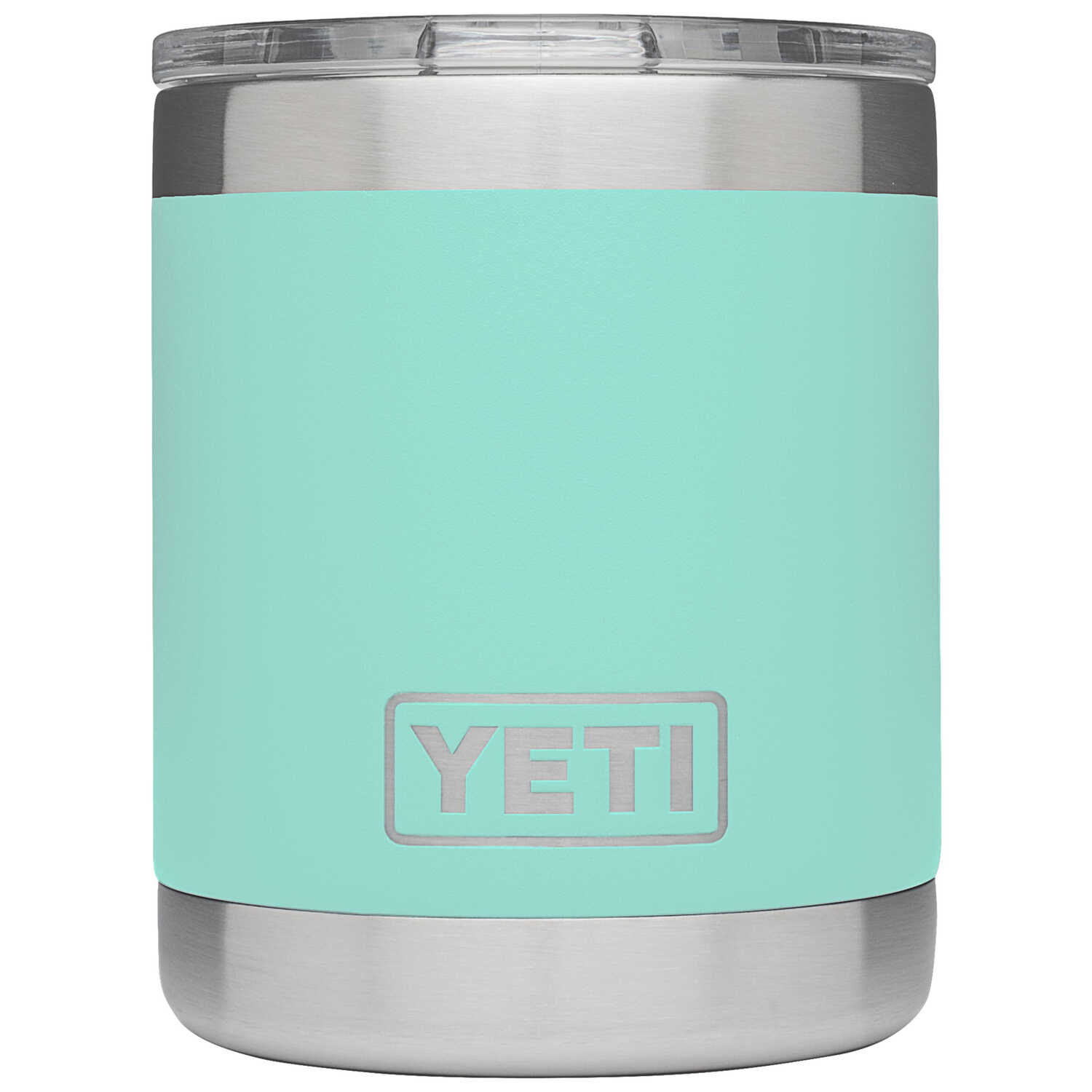 YETI  Rambler  Seafoam Green  Stainless Steel  Insulated Tumbler  BPA Free 10 oz. Lowball