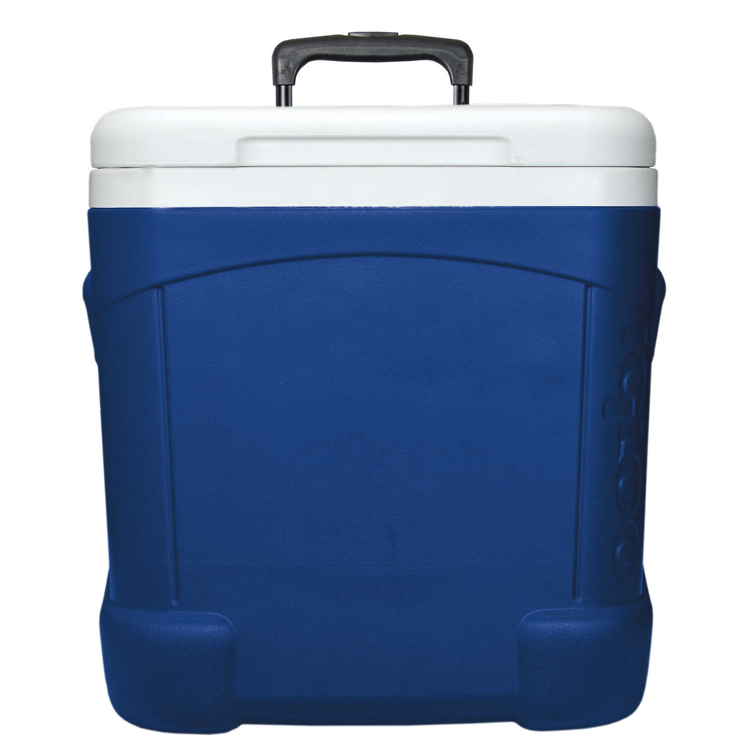 igloo ice cube roller cooler 60 qt. blue - ace hardware