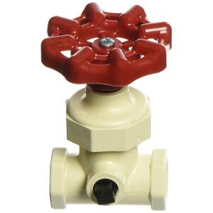 KBI  1/2 in. CTS   x 1/2 in.  CTS  CPVC  Stop and Waste Valve