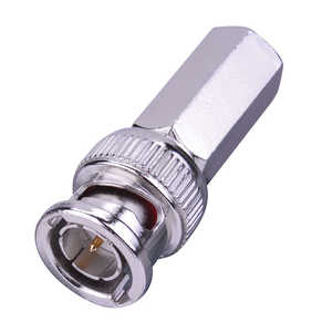 Just Hook It Up  Twist-On  RG6  Coaxial Connector  2 pk