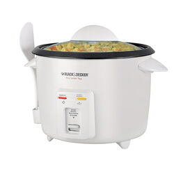 Black and Decker White 16 cup Programmable Rice Cooker