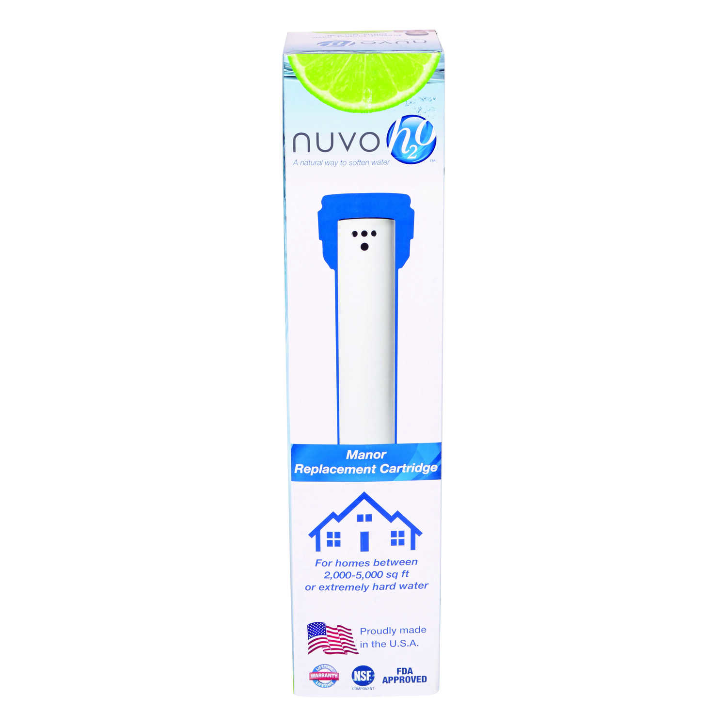 Nuvo H20  Replacement Cartridge  For Water Softeners
