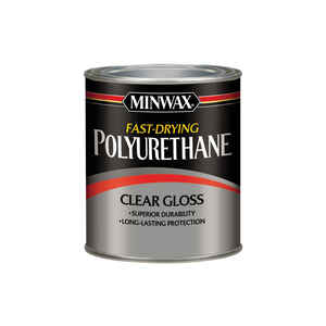 Minwax  Gloss  Clear  Fast-Drying Polyurethane  1 qt.