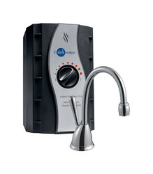 InSinkErator  Involve  2/3 gal. Black  Hot Water Dispenser  Stainless Steel