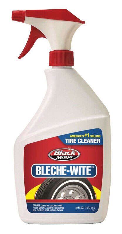 Black Magic  Bleche Wite  Liquid  Tire Cleaner  32 oz.