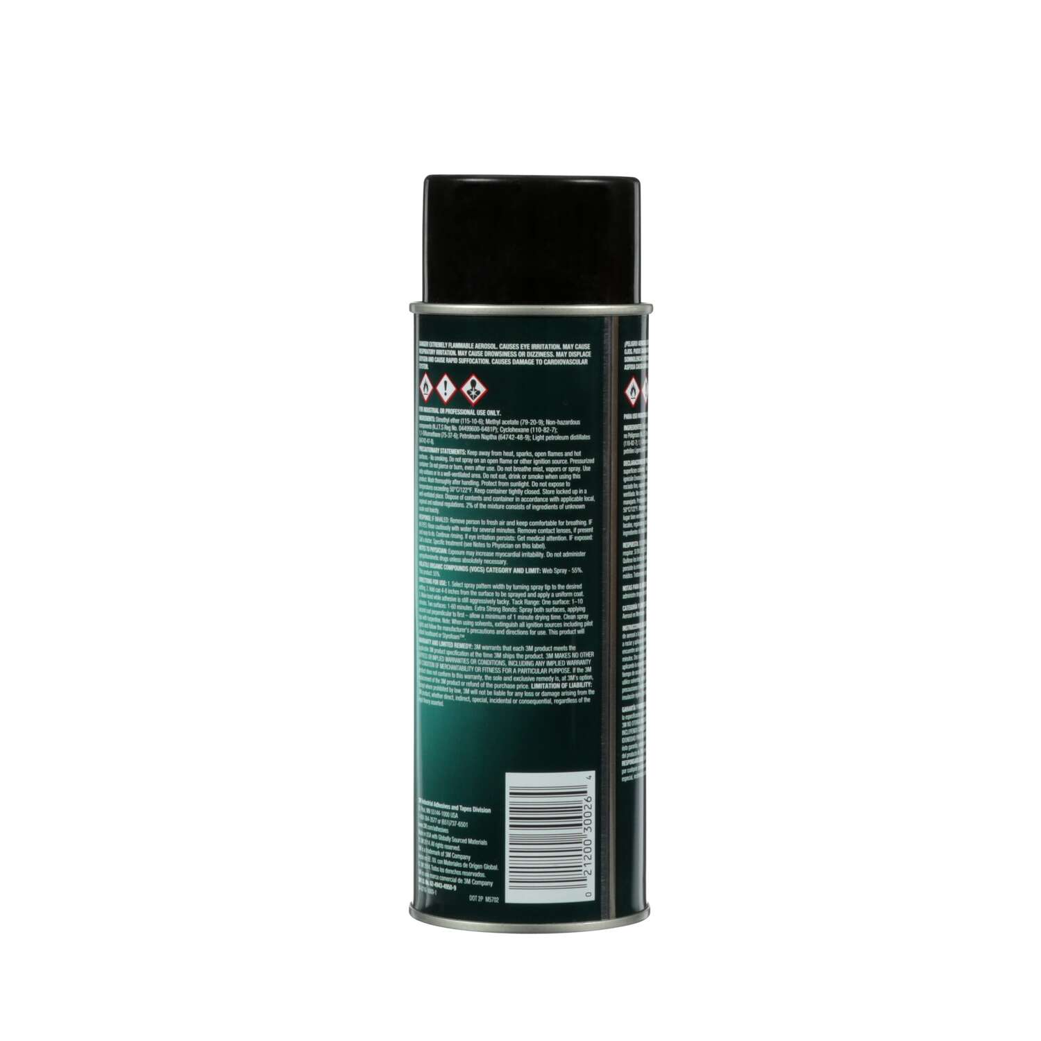 3M  Hi-Tack 76  High Strength  Synthetic Polymer  Adhesive  18.15 oz.