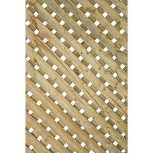 Suntrellis  Privacy Plus  8 ft. W x 4 ft. L Privacy Lattice Panels