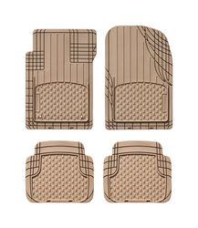 WeatherTech  Brown  Thermoplastic Elastomer  Auto Floor Mats  4 pc.