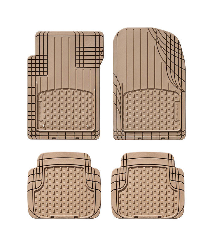 Awesome WeatherTech Brown Auto Floor Mats 4 Pc. Thermoplastic Elastomer