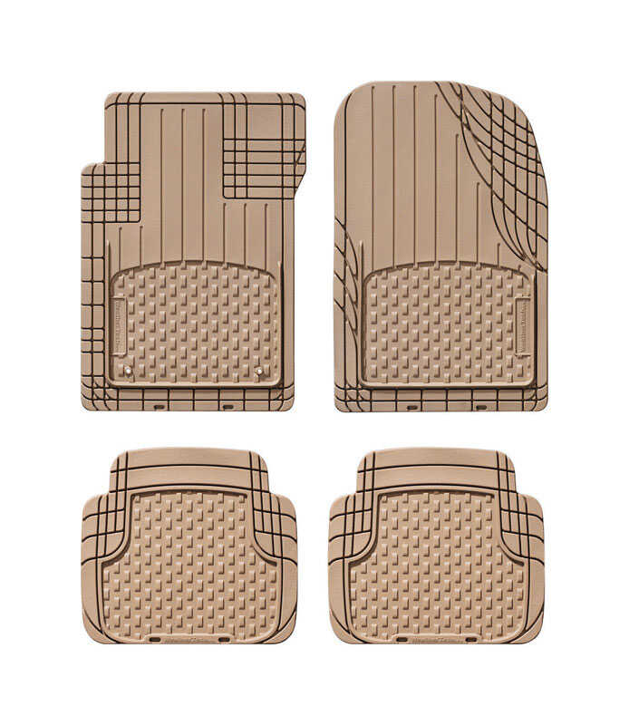 WeatherTech  Brown  Auto Floor Mats  4 pc. Thermoplastic Elastomer