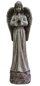 Le Power  Polyresin  Angel  25-5/16 in. Outdoor Statue