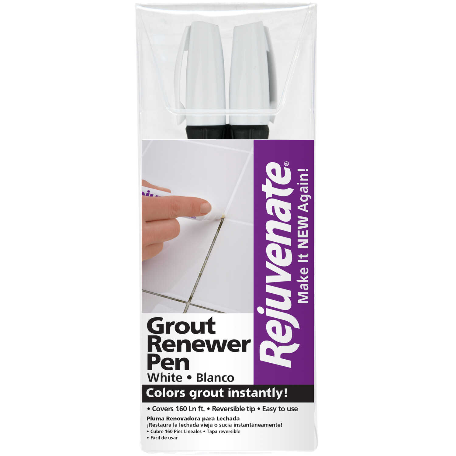 Rejuvenate Grout Pen 2 Pk Ace Hardware
