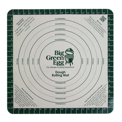 Big Green Egg  Wood  Green  Dough Rolling Mat  3 pk