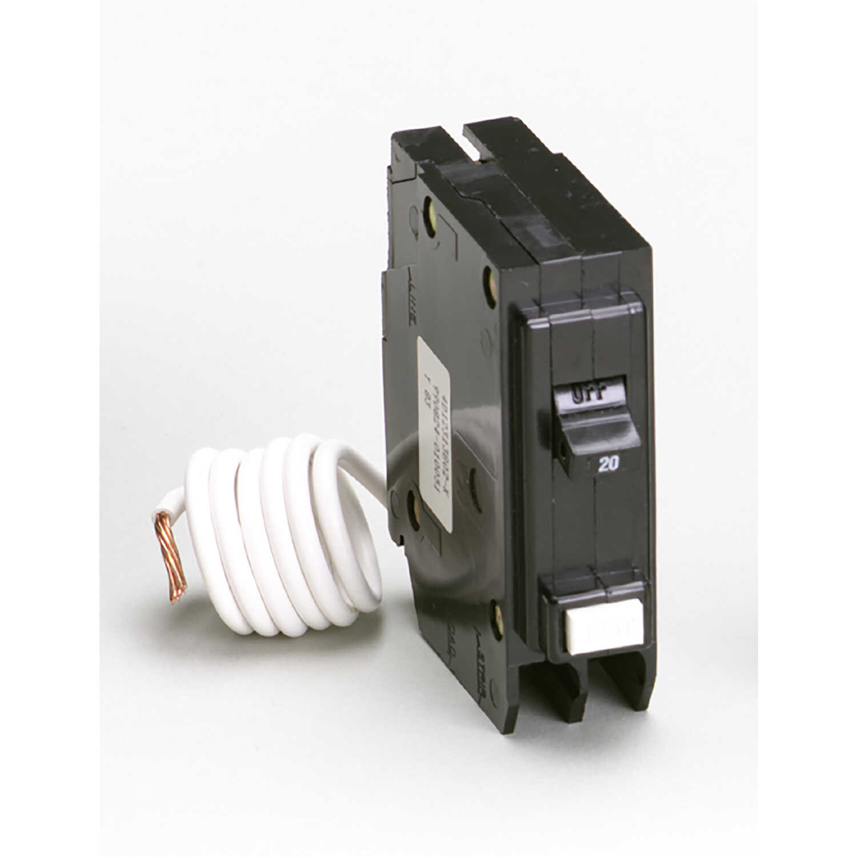 Eaton Cutler-Hammer 20 amps GFCI Single Pole Circuit Breaker w/Self