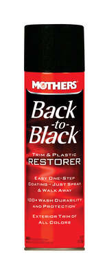 Mothers  Back-to-Black  Liquid  Trim & Plastic Restorer  10 oz.