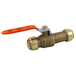 SharkBite  3/4 in. Brass  Push Fit  Ball Valve