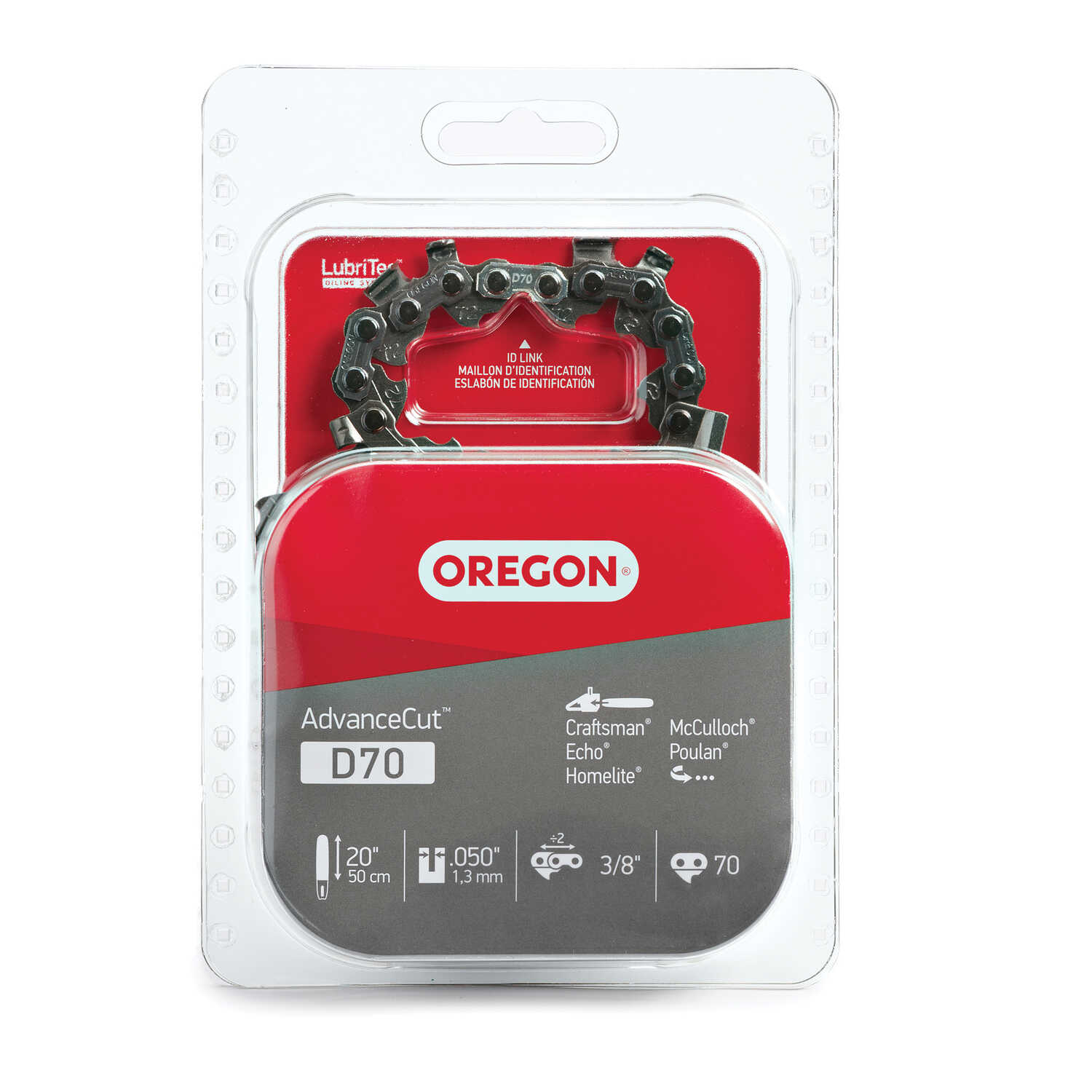 Oregon  Advance Cut  20 in. 70 links Chainsaw Chain