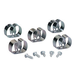 Crawford  Silver  Steel  Grip Clip  For 4 5 pk