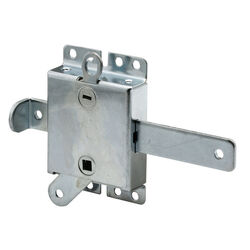 Prime-Line 3-1/16 in. W x 3-1/16 in. L Steel Side Lock