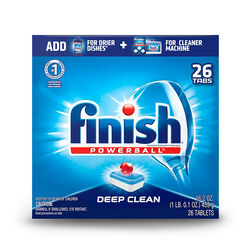 Finish  Powerball  Fresh Scent Pods  Dishwasher Detergent  26 pk
