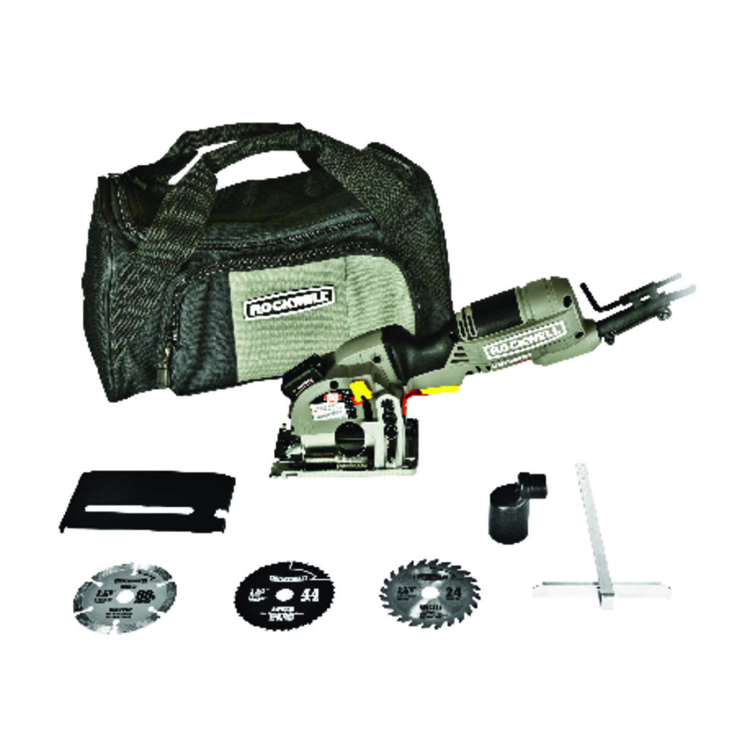 Rockwell  Versacut Mini  120 volts 4 amps 3-3/8 in. in. 3500 rpm Circular Saw