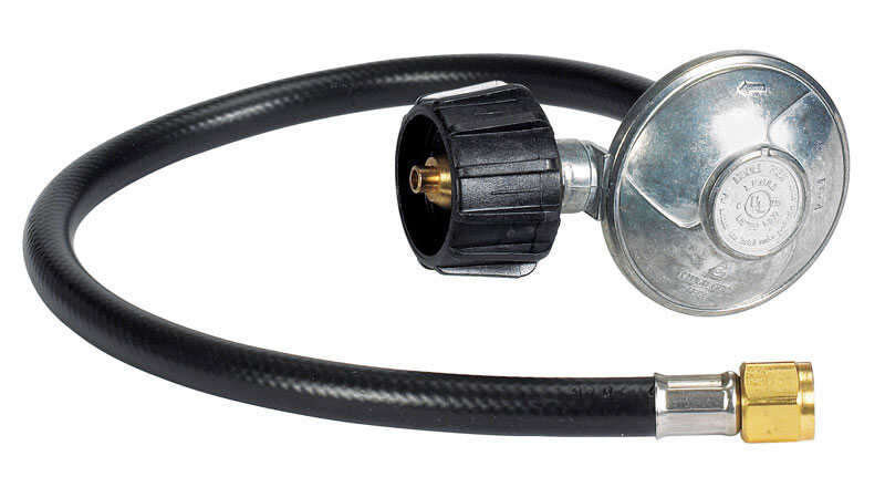 Weber Rubber Gas Line Hose and Regulator Genesis® Silver C