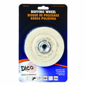 DICO  Canton Flannel  Buffing Wheel