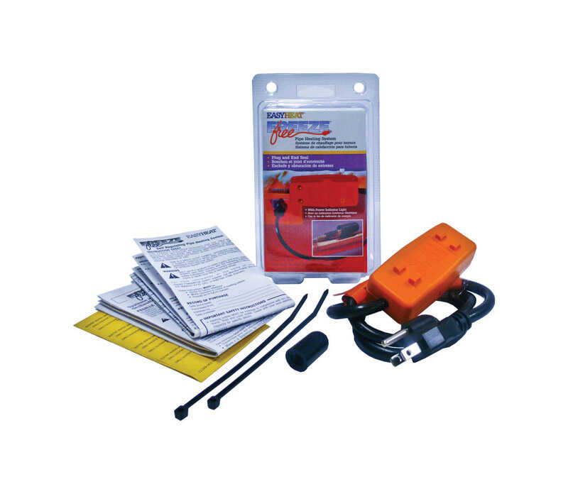 Easy Heat  Freeze Free  30 in. L Self Regulating Connection Kit  For Self Regulated Pipe Heating Cab