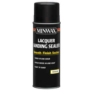 Minwax  Smooth  Clear  Oil-Based  Lacquer Sanding Sealer  12.25 oz.