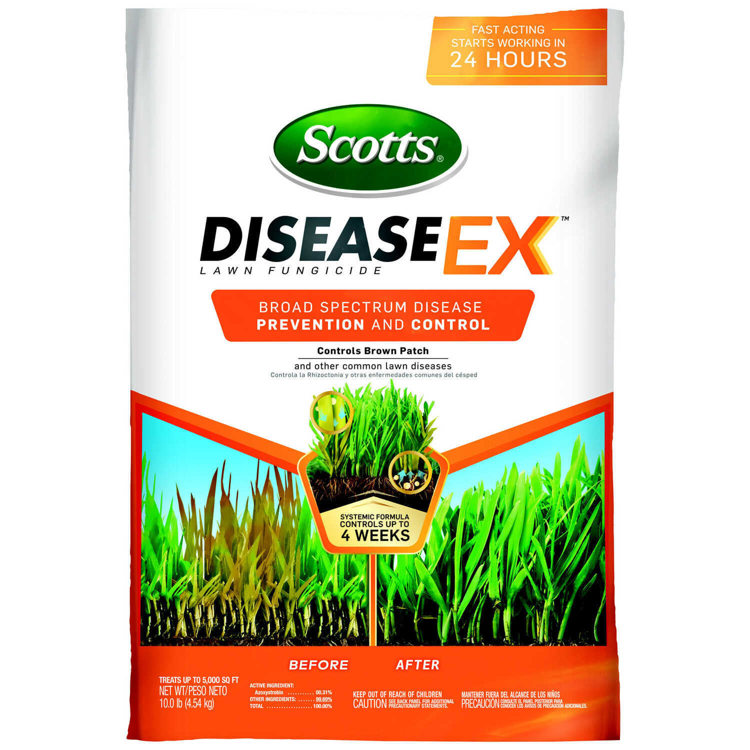 Scotts  Disease EX  Mineral Supplement  For All Grass Types 10 lb.