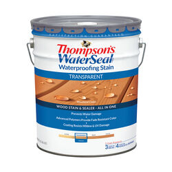 Thompson's WaterSeal Transparent Woodland Cedar Waterproofing Wood Stain and Sealer 5 gal.