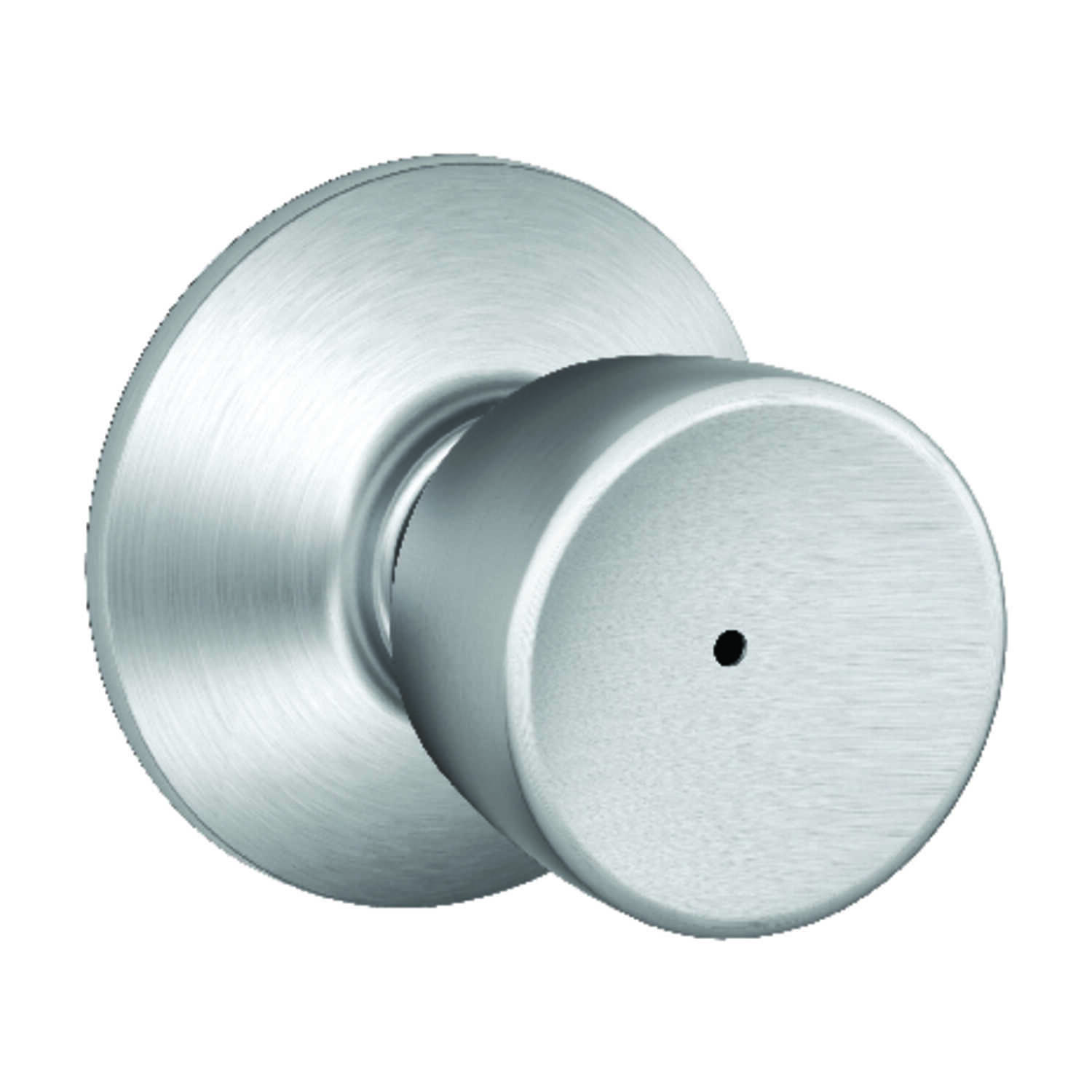 Schlage  Bell  Satin Chrome  Steel  Privacy Lock  ANSI Grade 2  1-3/4 in.