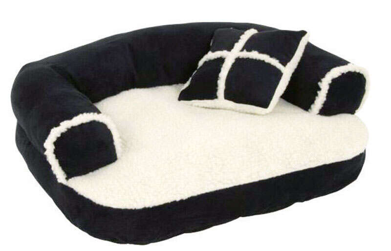 Petmate  Assorted  Sheepskin  Pet Bed  16 in. H x 20 in. W x 9 in. L