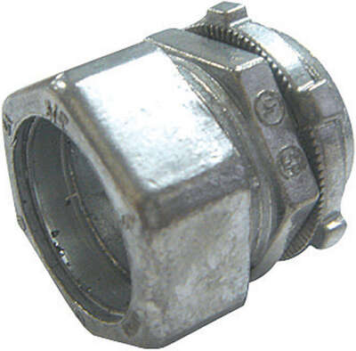 Sigma Electric ProConnex 3/4 in. Dia. Die-Cast Zinc Compression Connector For EMT 1 pk