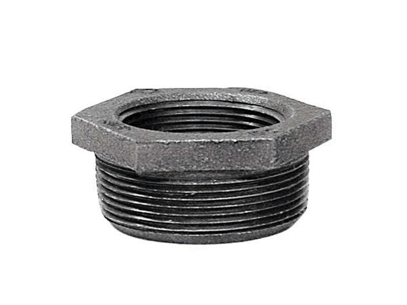 Anvil  1-1/4 in. MPT   x 3/4 in. Dia. FPT  Galvanized  Malleable Iron  Hex Bushing