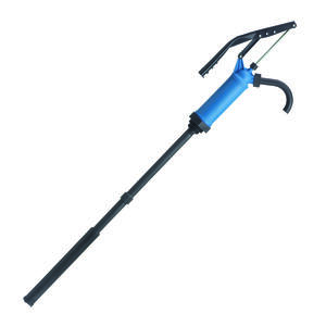 Lubrimatic  Polypropylene/Stainless Steel  Manual  Lever Barrel Pump  55 in.