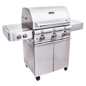 Saber  3 burners Propane  Stainless Steel  Grill  42000 BTU