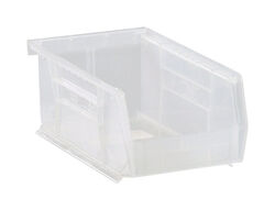 Quantum Storage  7-3/8 in. L x 4-1/8 in. W x 3 in. H Storage Bin  Plastic  1 compartment Clear