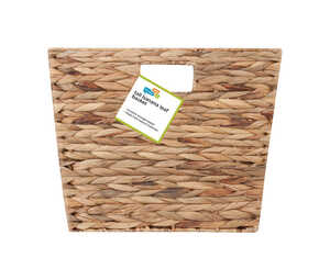 Honey Can Do  Banana Leaf  15 in. H x 12 in. W x 15 in. L Woven Basket  Brown/Natural