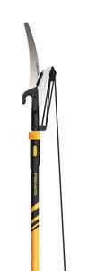 Fiskars  12 ft. Steel  Curved  Extendable Tree Pruner