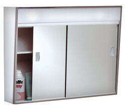 Zenith  18.25 in. H x 23.5 in. W x 5-1/2 in. D Rectangle  Medicine Cabinet