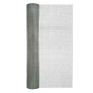 Garden Zone  36 in. W x 25 ft. L Silver Gray  Steel  Hardware Cloth  1/2 in.