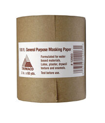 Trimaco Masking Paper 3 W x 180 ft. L Paper Brown 1