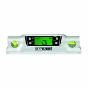 Craftsman  8-1/4 in. Aluminum  Torpedo  Level  2 vial