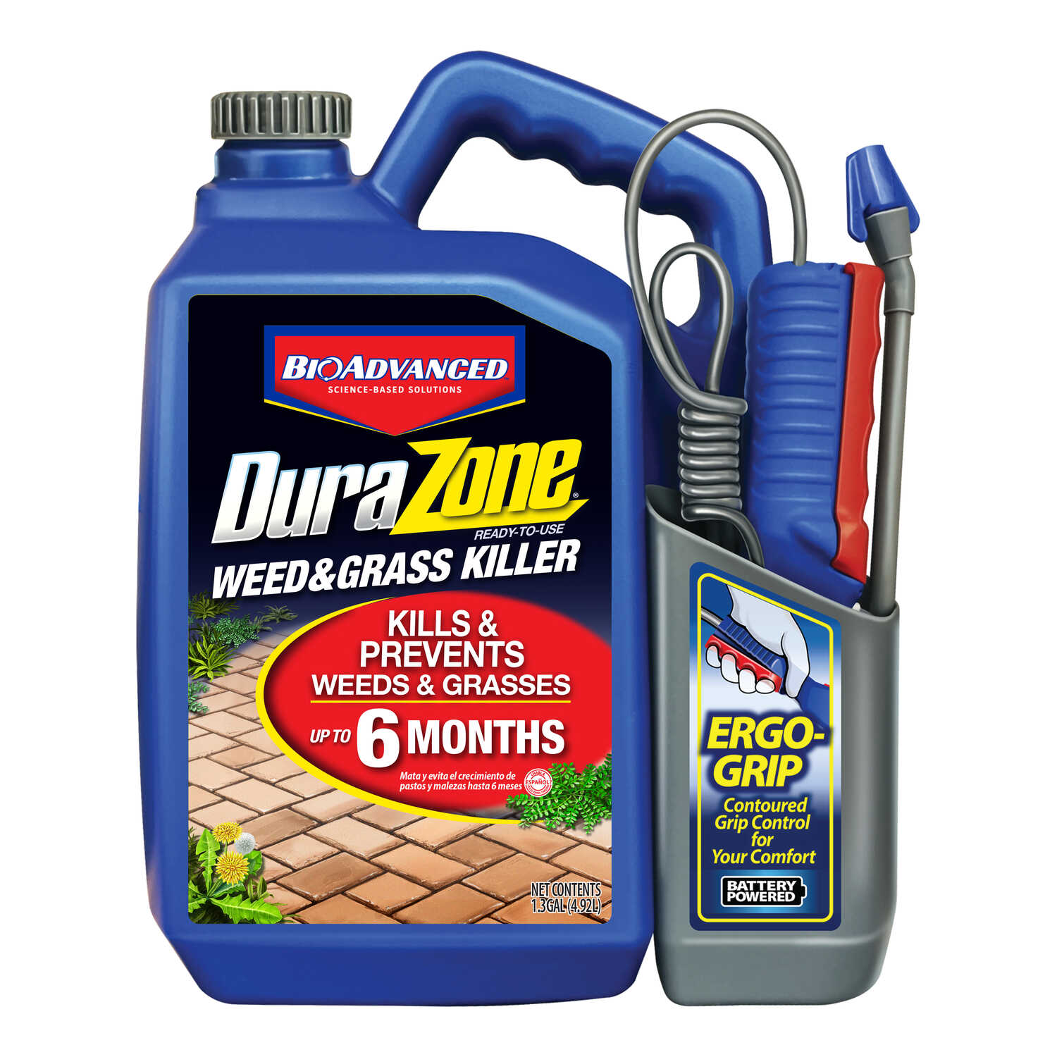 BioAdvanced  DuraZone  RTU Liquid  Weed and Grass Killer  1.3 gal.